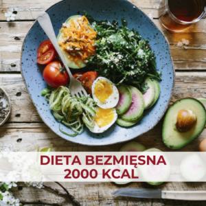 dieta bezmięsna 2000 kcal